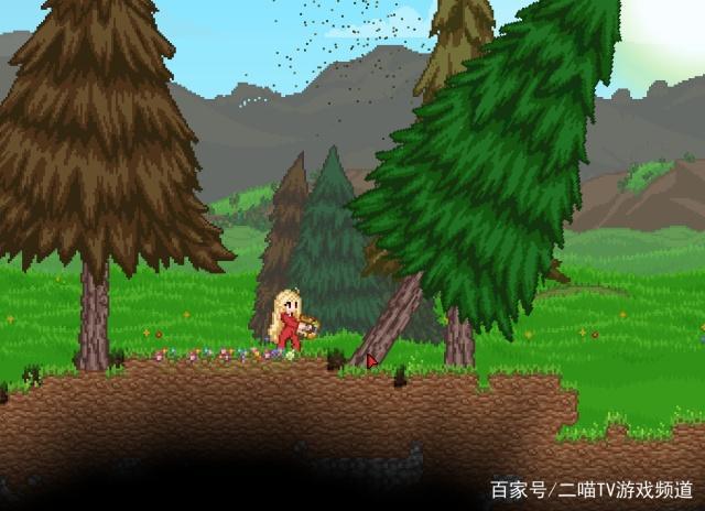 「游戏」Starbound:在野外盖一间小木屋!建设房屋的基本操作