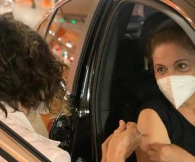 巴西前總統羅塞夫接種中國科興疫苗