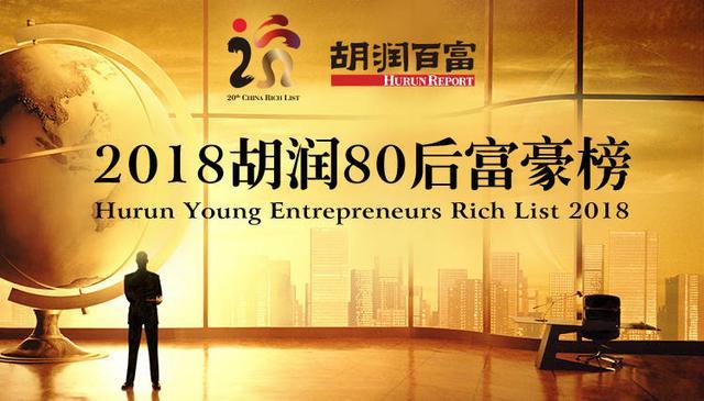 胡润80后富豪榜132位80后企业家财富超过20亿元|万博体育3.0-万博体育3.0下载