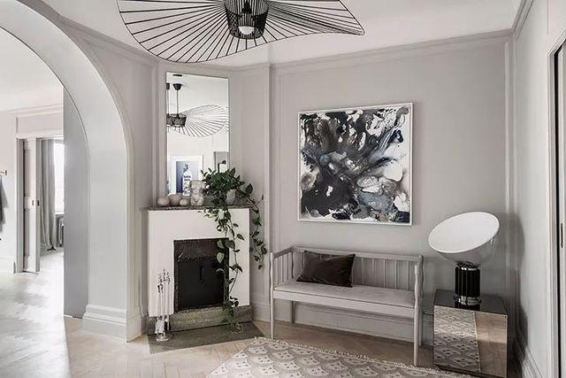 【现代】白+灰现代公寓, 塑造优雅设计感-第4张图片-赵波设计师_云南昆明室内设计师_黑色四叶草博客