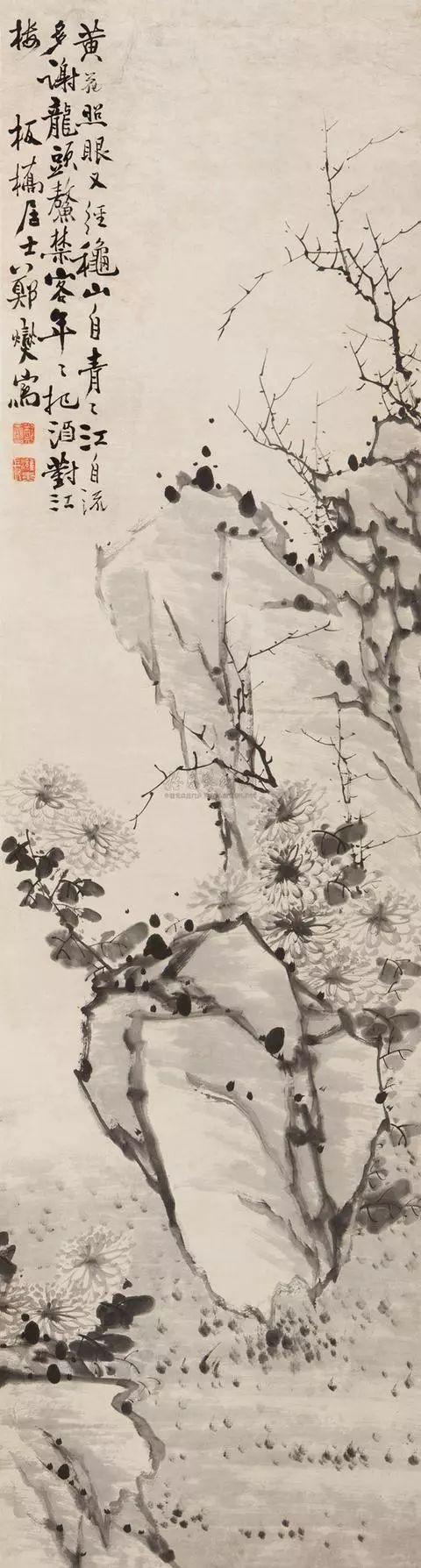 清 郑燮绘画作品欣赏