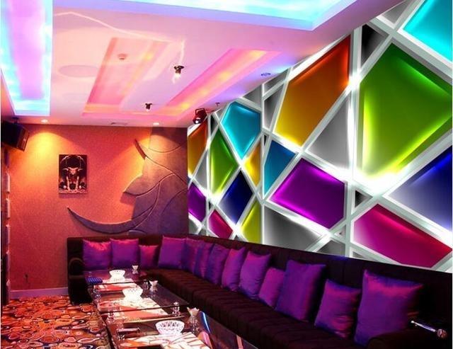 工装背景墙设计:工装背景墙这样设计很时尚很特色