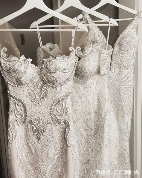 巴洛克风格复古婚纱礼服,高贵又华美,宫廷风精致细腻!