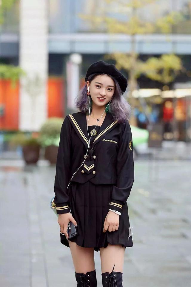 街拍:时尚潮流服装搭配,好看还有气质!
