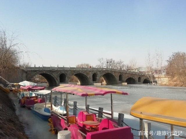 河北的一座古桥,曾是古御道的咽喉要地,深深的车辙印见证了历史