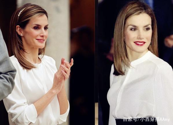 白襯衫人人都有,但最會穿的是她-西班牙王後!
