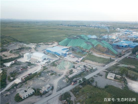 冀中能源峰峰集团大淑煤矿固废污染惊现近千亩污水渗坑!