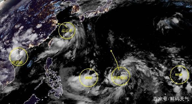 双台风合围华东华南,19号台风苏力总算不来我国而要去日本了