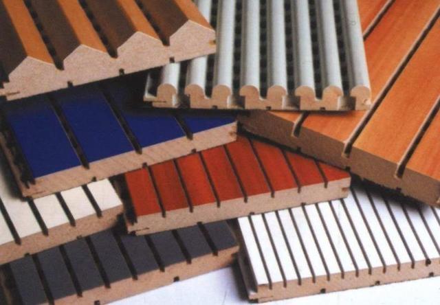 木质吸音板是墙面隔音材料的优选