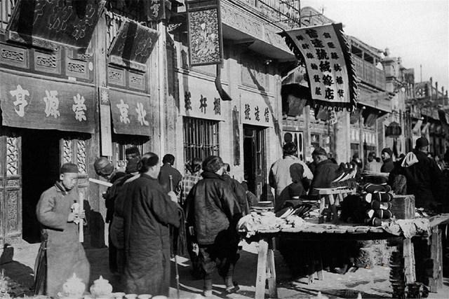 以前中国人是这样过年的,27张春节老照片,跨越100年!