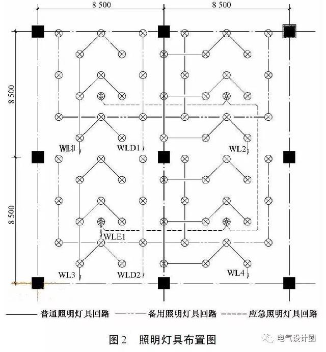 商场供电方案及照明和插座预留设计方案