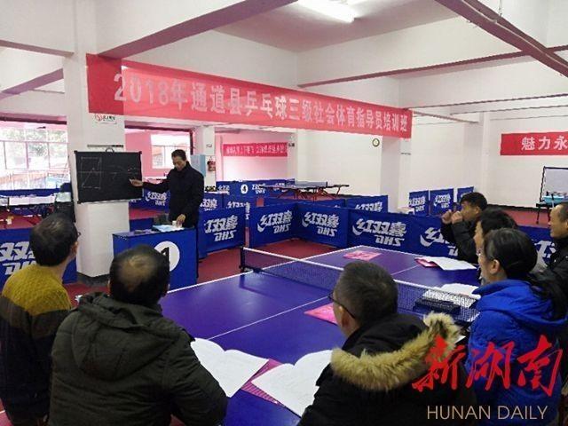 旅发委:举办健身秧歌、乒乓球、定向越野等项目三级社会指导员培训班