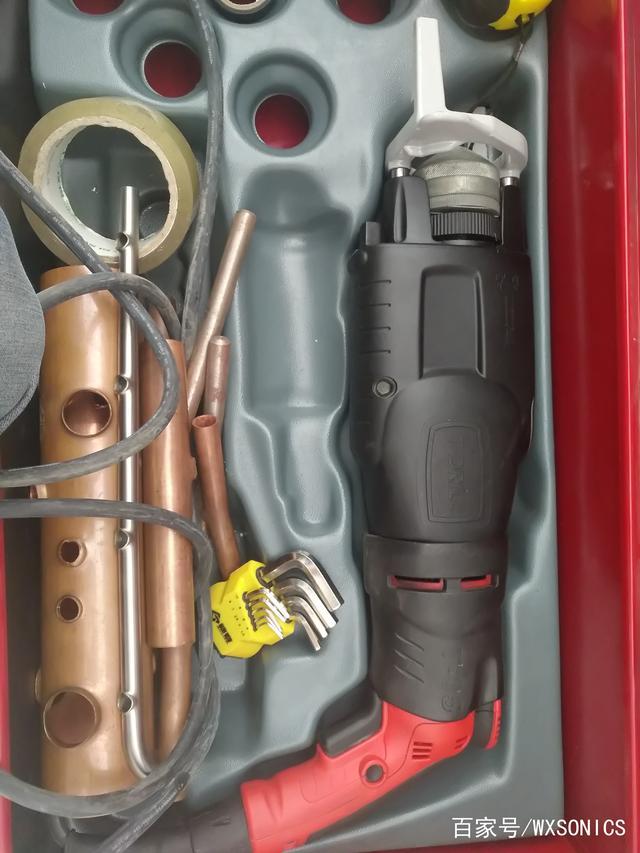 空调铜管铝管拔孔机——便携式拔孔机