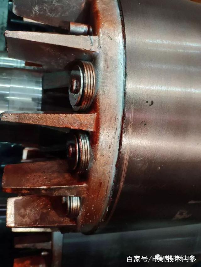 螺栓、螺母、平垫、弹垫及止动片等是电机上运用最广泛的一种零件