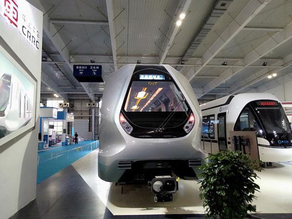 新一代地铁亮相 智能系统能实时监控全车