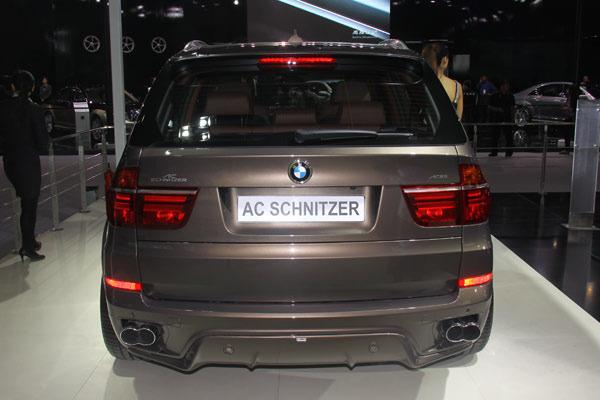 宝马AC Schnitzer X5实拍 高性能改装车参配解析