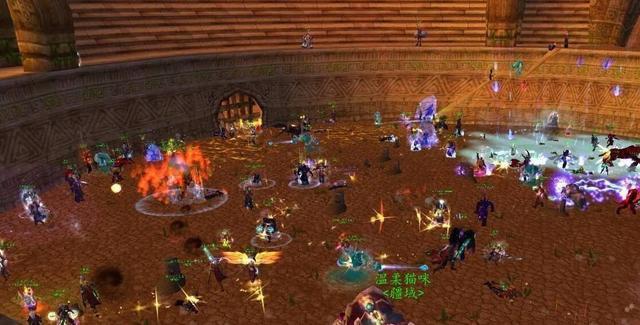 網遊史上最激烈4次大戰,魔獸5W人屠城,新天龍八部幾十萬人混戰