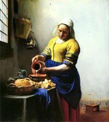 世界名画鉴赏:维米尔的风俗画,每一幅画的窗户其实都暗藏玄机!