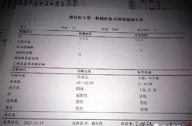 邢台妇科医院被指夸大病情、过度医疗