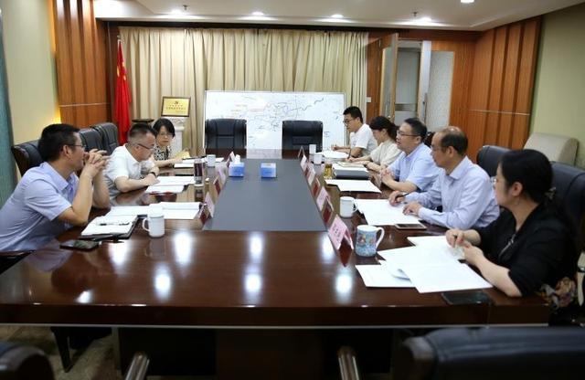 市國資委黨委副書記、副主任沈恩東一行調研市水務環境集團