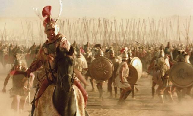 亚历山大大帝是希腊古代世界著名的征服者