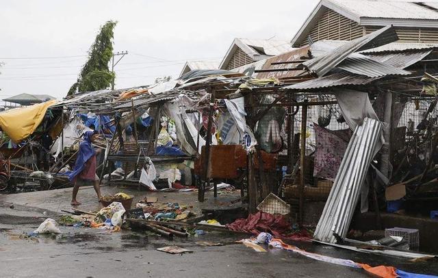 山竹台风对菲律宾的影响 造成死亡人数可能上百
