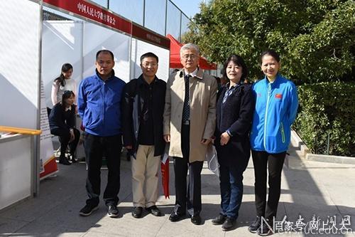 中国人民大学举办遐步金秋为老服务展示会
