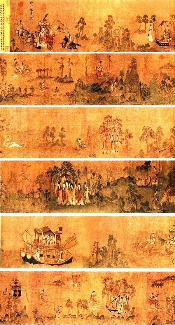 惊艳世界的中国十大传世名画,你见过吗?