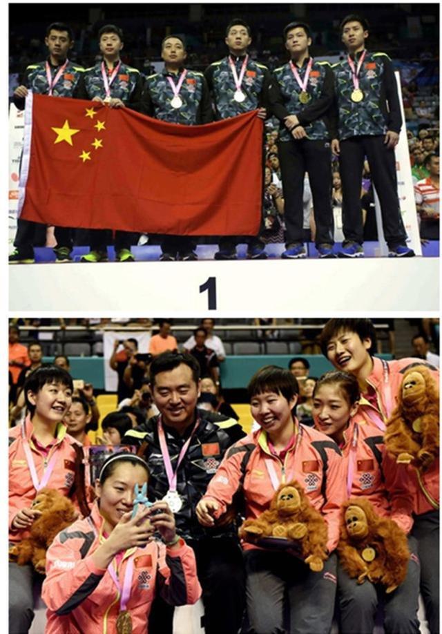 日本队,乒乓球,中国,马龙,无敌
