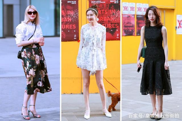 街拍:这些穿搭随便一拍就有时尚大片的感觉