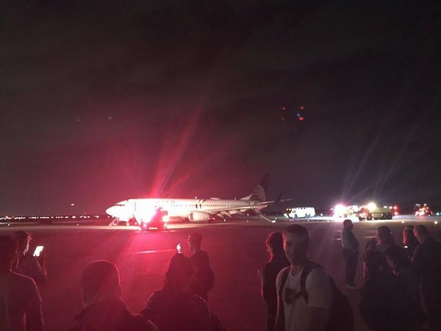 又是波音?埃航失事同一天_美联航载180人飞机因引擎问题迫降