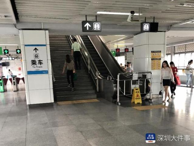 3号线一站点早高峰常关停上行扶梯 乘客爬楼赶车