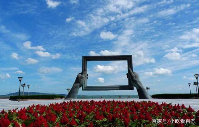直击:中国离韩国日本最近的一座城市,名字很霸