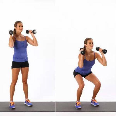 哑铃燃脂增肌健身计划, 一周三练!