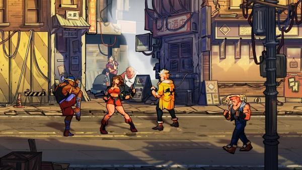 《怒之铁拳4》公布 经典清版动作游戏复活!