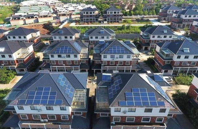 自从装了太阳能板,采暖用电不花钱还能卖钱