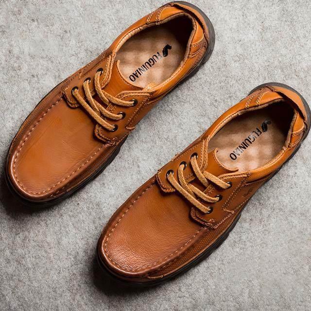 還在穿過時的板鞋?18年新款式的皮鞋時尚帥氣,穿上男人味十足