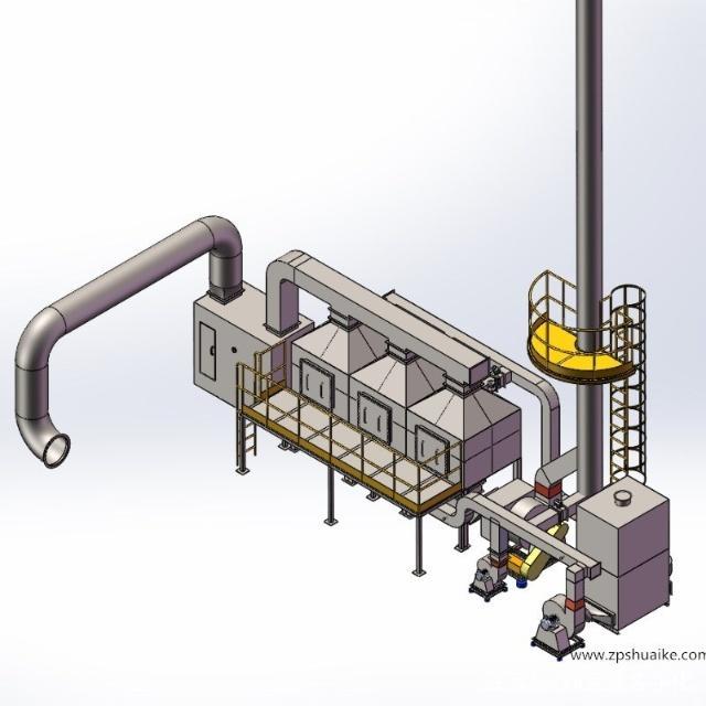 活性炭吸附催化燃烧装置,催化燃烧装置,废气处理装置