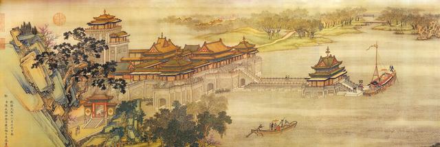 十大传世名画之清明上河图完整高清版