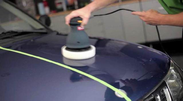 去美容店就让做抛光,原厂车漆最多能抛光几次?