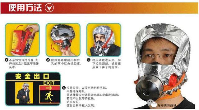 友安消防:什么样的消防面具是合格的