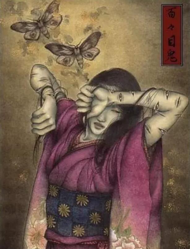 百鬼夜行:日本传说中最凶的十个女鬼,最后一个