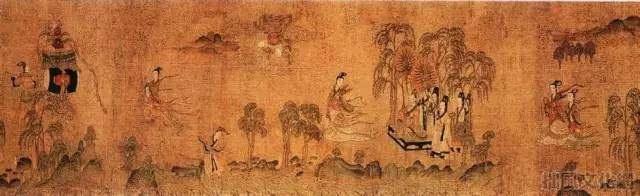 中国古代名画有哪些?揭秘中国十大传世名画