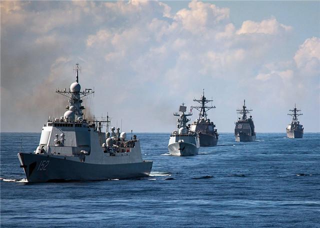 有权开火自卫 5国南海联合军演 英军方突发警告:不许威吓驱赶