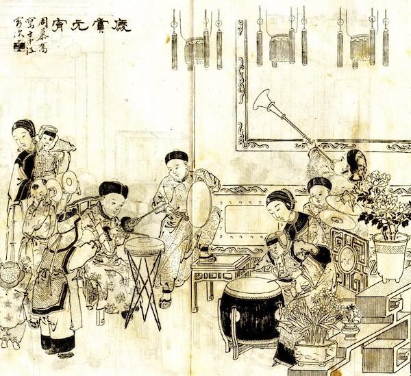 年画寻访③|上海小校场年画里的海派年味