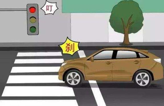 闯红灯,开车违章,交通违章,交通违法,驾驶证网上违章查询网