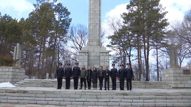 佳木斯邊境管理支隊組織開展清明節紀念英烈活動