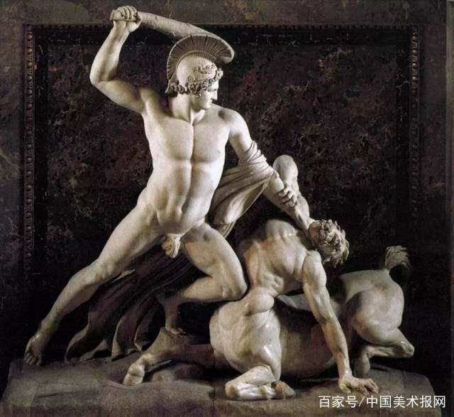 名画背后|亲情的天平:从弗兰德兰的《忒修斯父子相认》谈起