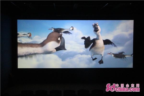 小记者走进星美影城观影《妈妈咪鸭》 在成长中懂得爱