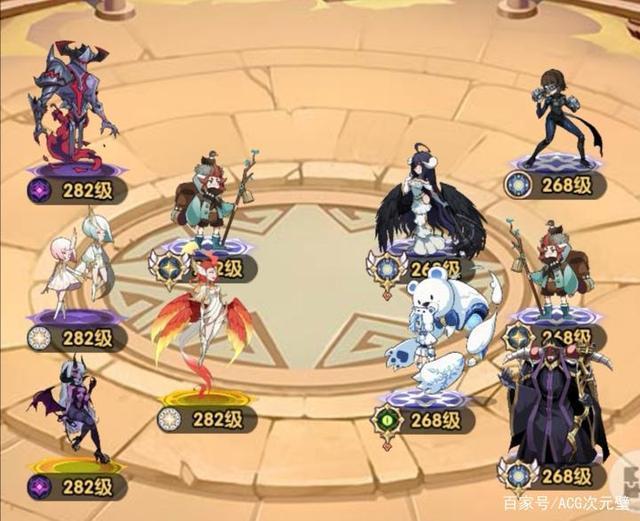 劍與遠征:神魔角色應該先練哪個?鳳凰和雙子的優先級很高!